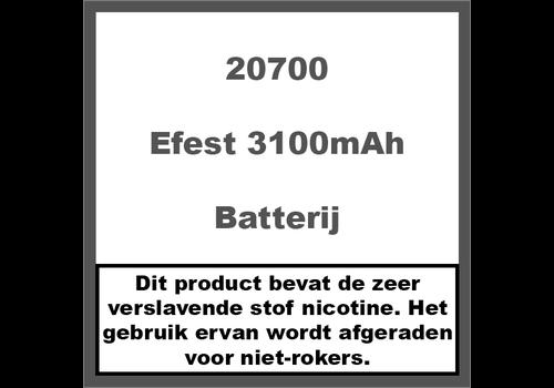 Efest 20700 3100mAh 30A