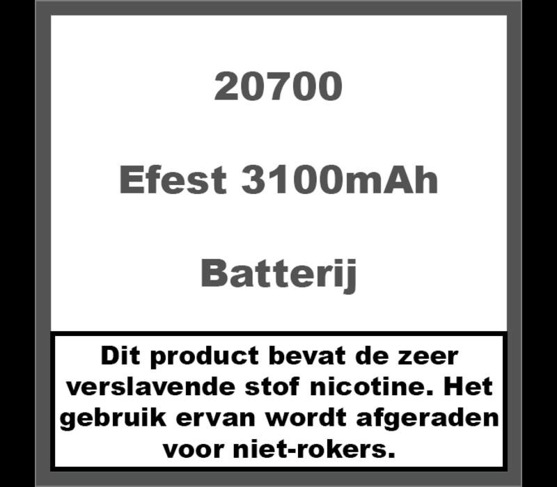 20700 3100mAh 30A