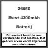 Efest 26650 4200mAh 50A