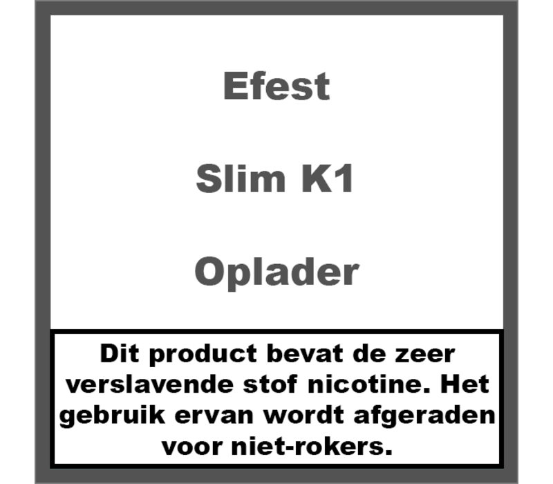 Slim K1 Charger