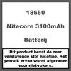 Nitecore 18650 3100mAh 35A (2 stuks)