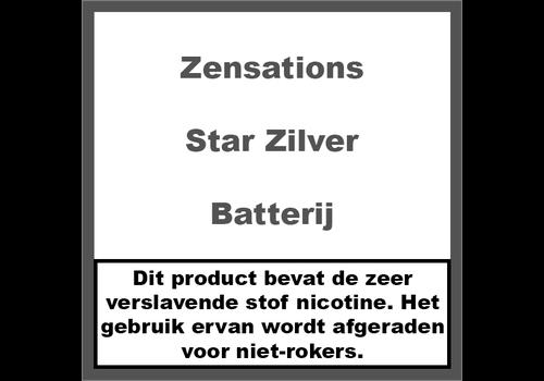 ZenSations Star Batterij Zilver