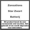 ZenSations Star Batterij Zwart