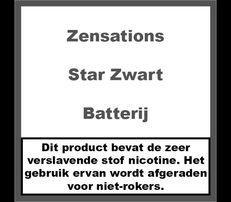 Star Batterij Zwart