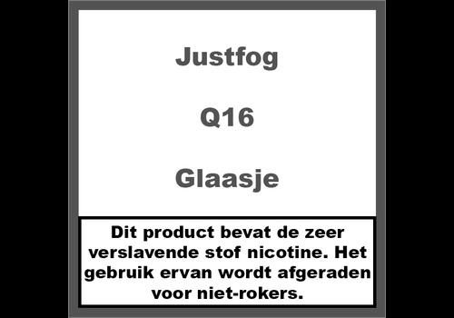 JustFog Q16 Reserve Glaasje
