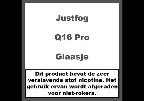 JustFog Q16 Pro Reserve Glaasje