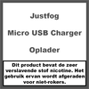 JustFog Micro USB Battery Charger