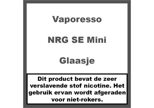 Vaporesso NRG SE Mini Glaasje (2ml)