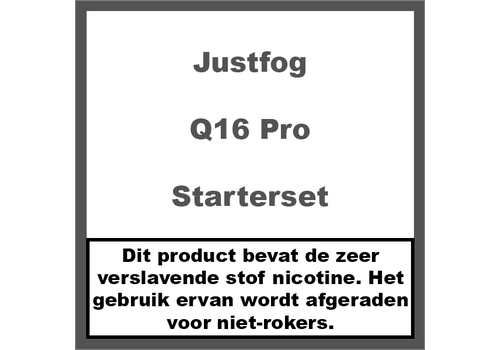 JustFog Q16 Pro Starterset