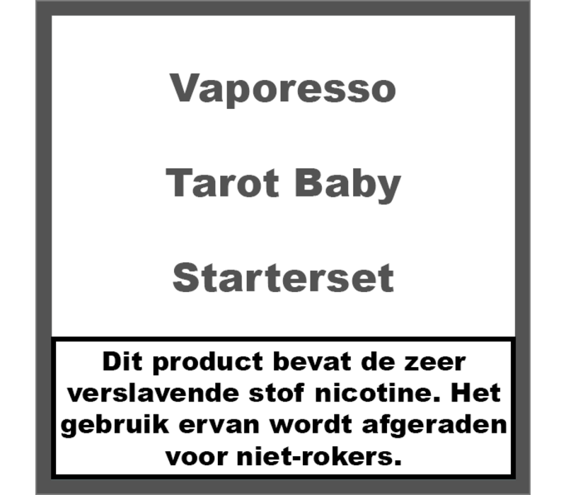 Tarot Baby Kit