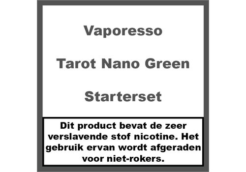 Vaporesso Tarot Nano Kit Green