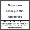 Vaporesso Revenger Mini Starterset Zwart