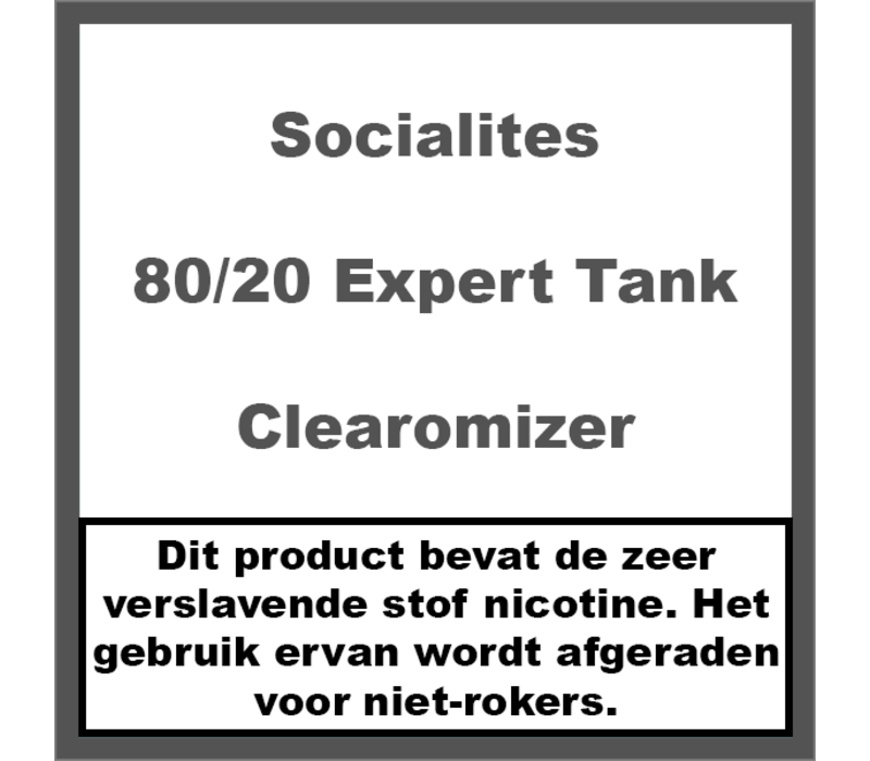 Tank 80/20