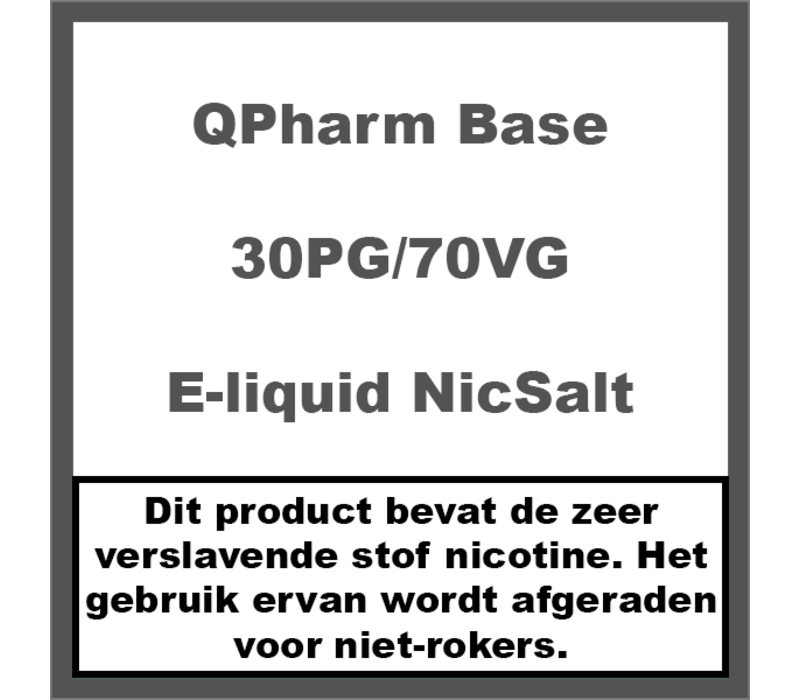 Base 30%PG/70%VG NS