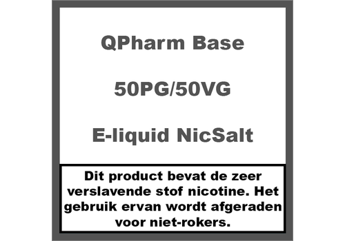 QPharm Base 50%PG/50%VG NS