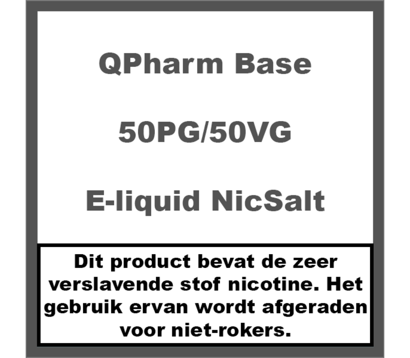 Base 50%PG/50%VG NS