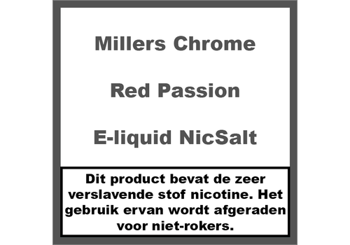 Millers Chrome Line Red Passion NS