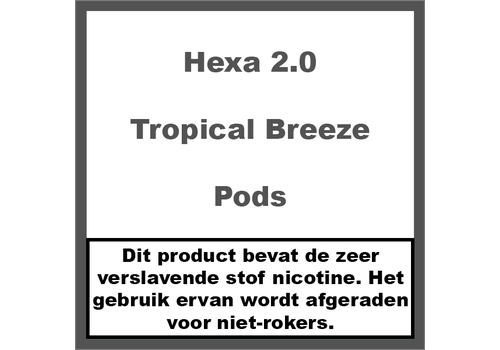 Hexa 2.0 Pods Tropical Breeze