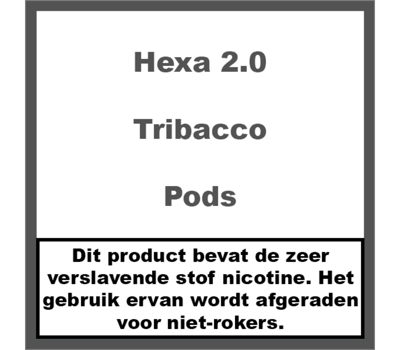 2.0 Pods Tribacco