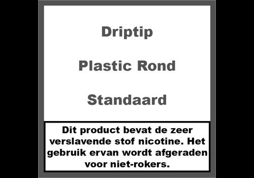 DripTip 510 Plastic Rond