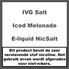 IVG Iced Lemonade NS20