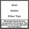 Kiwi Amber Filter Tips