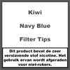 Kiwi Navy Blue Filter Tips