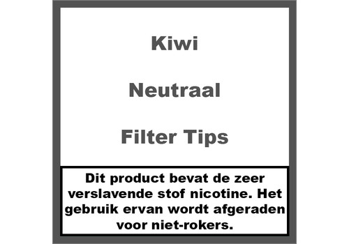 Kiwi Neutraal Filter Tips