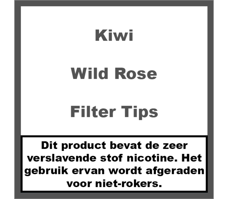 Wild Rose Filter Tips