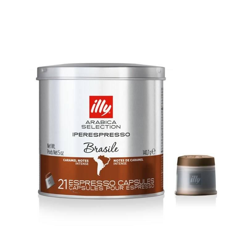 Illy - Iperespresso capsules - Brasile