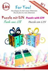 3D Pop Up Puzzle, Geschenkbox (grün)