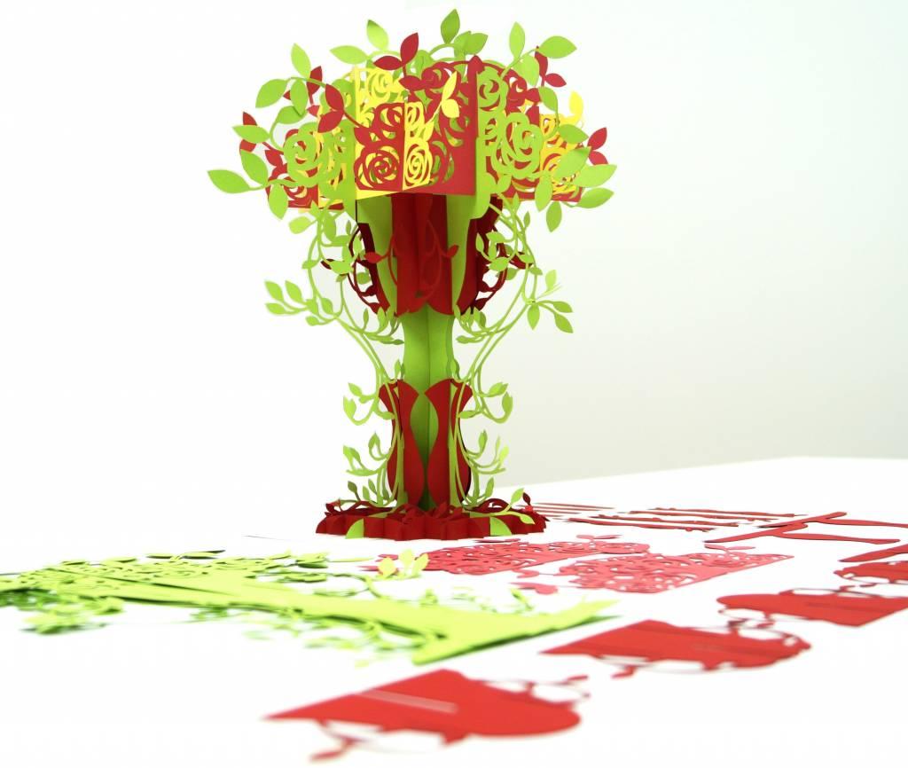 3D Pop Up Puzzle, Baum