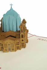 Pop Up 3D Karte, Glückwunschkarte, Reisegutschein, Berliner Dom, N174