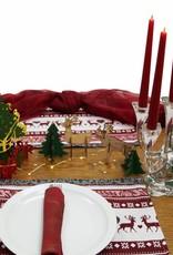 Weihnachtsdekoration, Bastelset Tannenbäume Rentiere, Weihnachtsbasteln, do it yourself, selbstgemacht