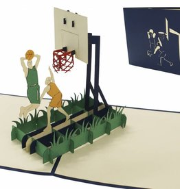 Pop Up Card - Basketball Players (Nr. 269)