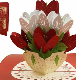 Pop Up Card - Colorful Flowers (Nr. 720)