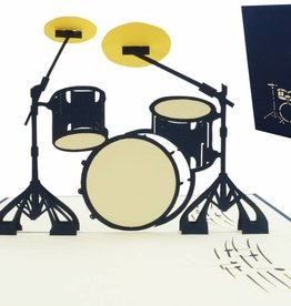 Pop Up Card - Drumset (No. 282)