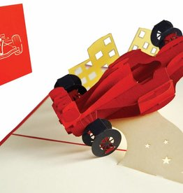Pop Up Card - Formula 1 Racing Car  (No. 313)