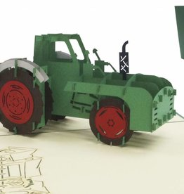 Pop Up Card - Tractor (Nr. 320)