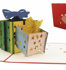 Pop Up Card - Christmas Presents (No. 336)