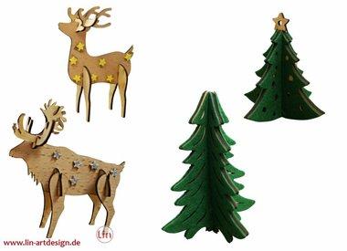 DIY - LIN Weihnachtsbasteln