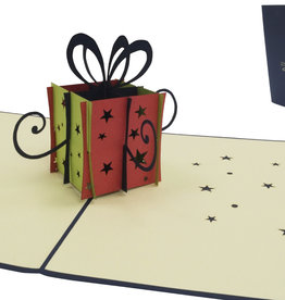 Pop Up 3D Karte, Geburtstagskarte, Glückwunsch Karte, Einladung, Geschenk, N125