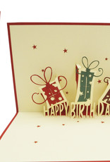 Birthday presents (red)