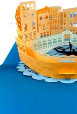Pop Up 3D Karte Italien , Geburtstagskarte, Glückwunschkarte   Pop