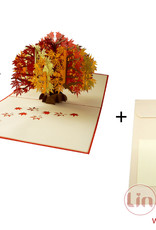 Pop Up Card Flower, POP UP Card Birthday, 3D Greetingcard Flowers, Card, Foldingcard, Birthdaycard, Good Luck, get well soon, Wellness coupon,orchid,N358 - Copy