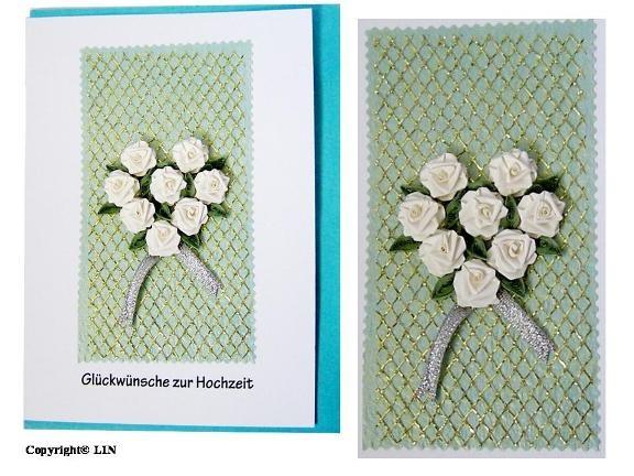 Quilling, Grußkarte geburtstag, Creative Paper Quilling,Papier Quilling Set-Quilling, Papierstreifen, Blumenkarte, Rosen,Pop Up Karte Blumen, Hochzeitskarte,