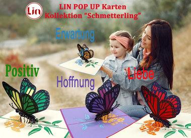 Schmetterlingskarten von LIN