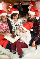 Pop Up 3D Karte, Weihnachtskarte, Glückwunschkarte, Weihnachtsbaum Sterne, N423