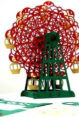 3D Pop up puzzle, Big wheel