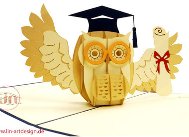 Glückwunsch zur bestandenen Prüfung